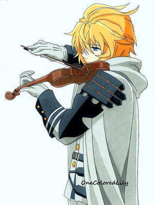 The Violinist by OneColoredLily