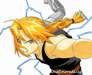 Edward Elric (5) by OneColoredLily