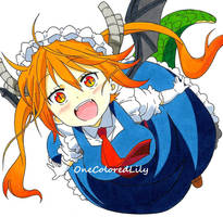 Miss Kobayashi's Dragon Maid by OneColoredLily