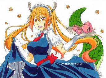 Miss Kobayashi's Dragon Maid (2) by OneColoredLily