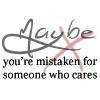 Someone Who Cares, 1 by bluasylum