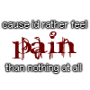 Pain, 1 by bluasylum