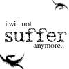 Not Suffer Anymore, 1 by bluasylum
