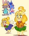 Animal Crossing garbage