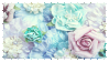 pastel flower stamp
