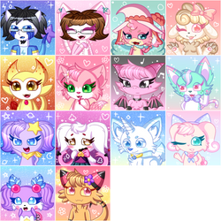 ToyHouse Icons Batch (1) by P4ND4-ST4R
