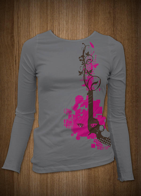 T-Shirt Design 04 \'girls\' by Karbacca on DeviantArt