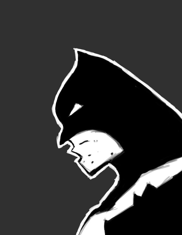 Batman: Frank Miller style by Karbacca