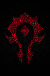 Horde Typography Black by Karbacca