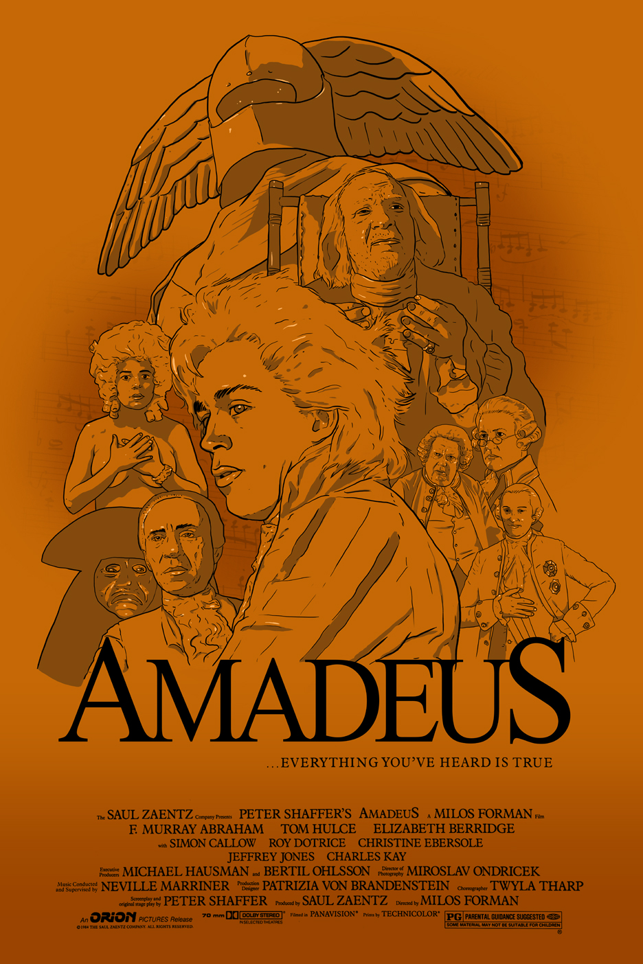 "Amadeus Poster ""FINAL"" by Karbacca"