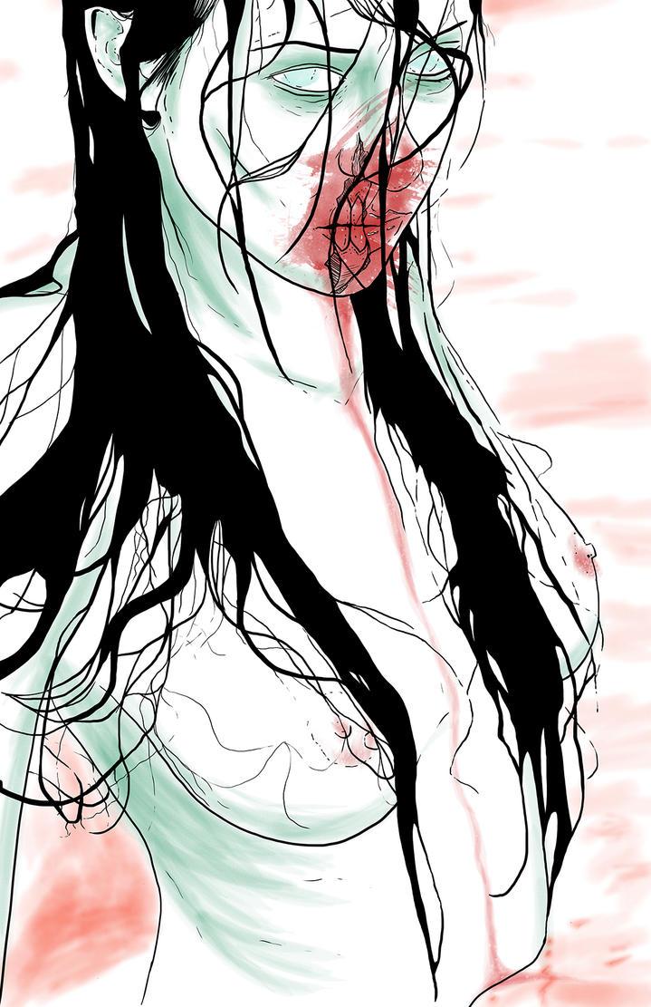Zombie Woman (Final) by Karbacca