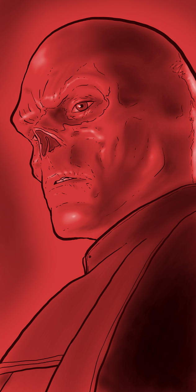 The Red Skull by Karbacca