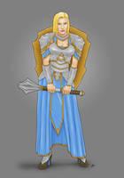 Lady Macey Escott, Cleric of Sune