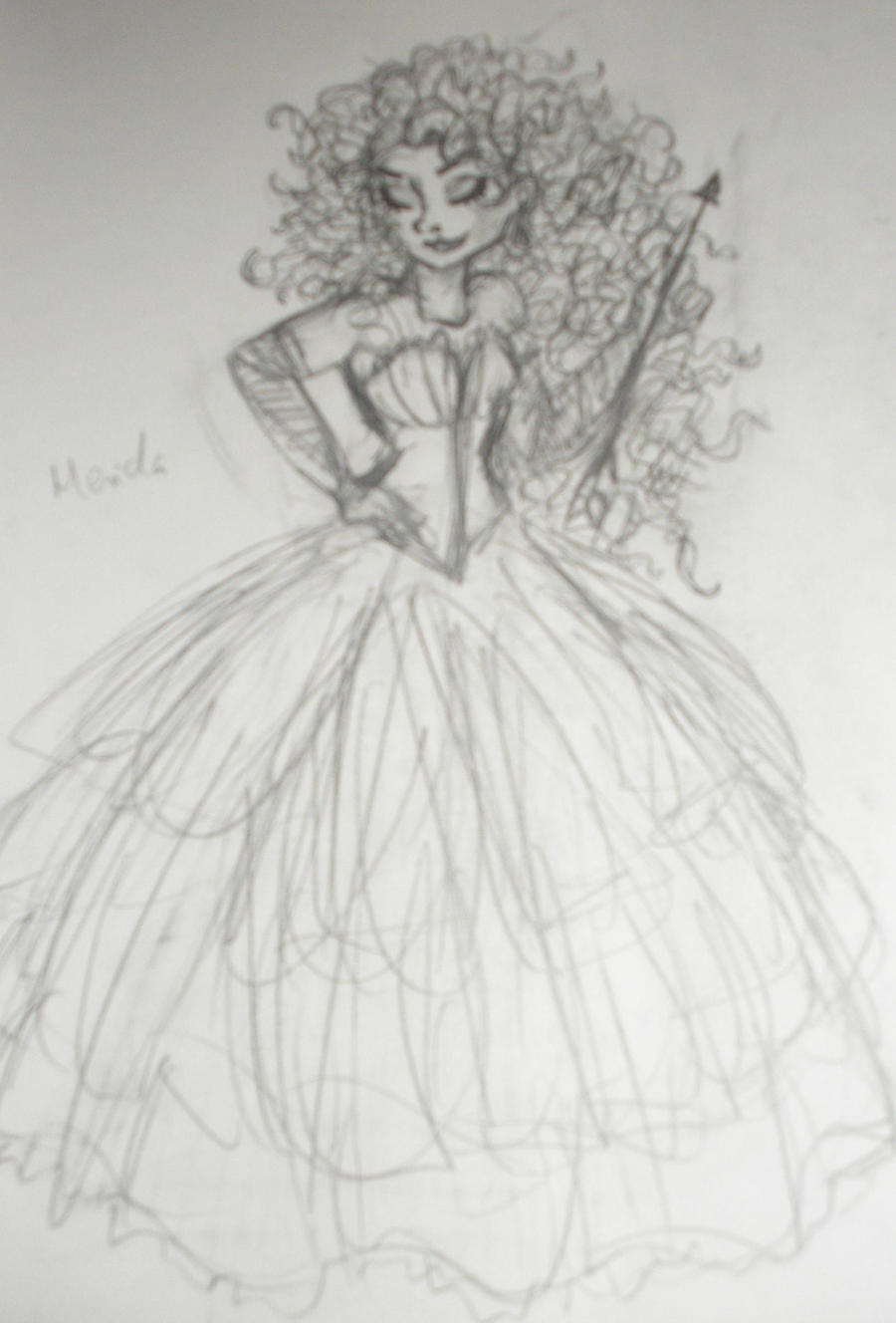 Designer Merida-unfinished by sophiesmile