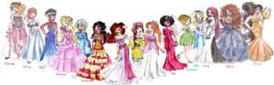 Disney Designer Heroines V.2