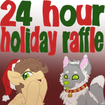 24 Hour Holiday Raffle!