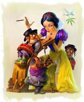 Snow White by Waldemar-Kazak