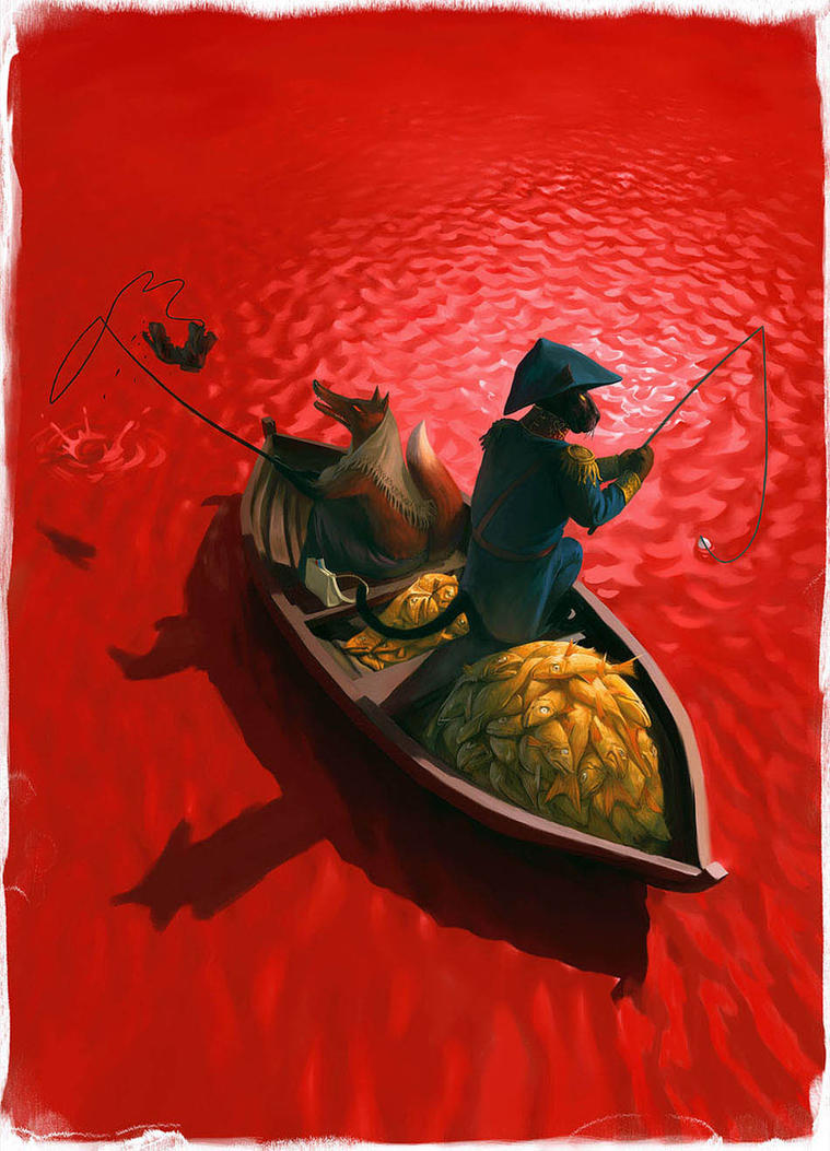 Fishing by Waldemar-Kazak