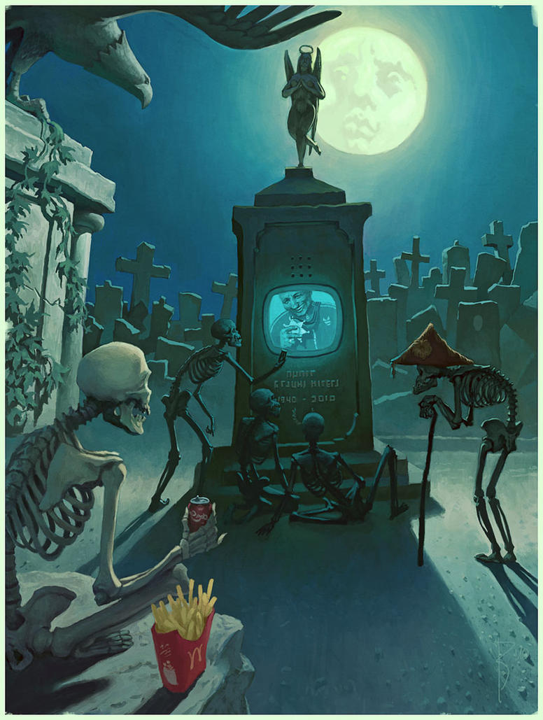 new cemetry by Waldemar-Kazak
