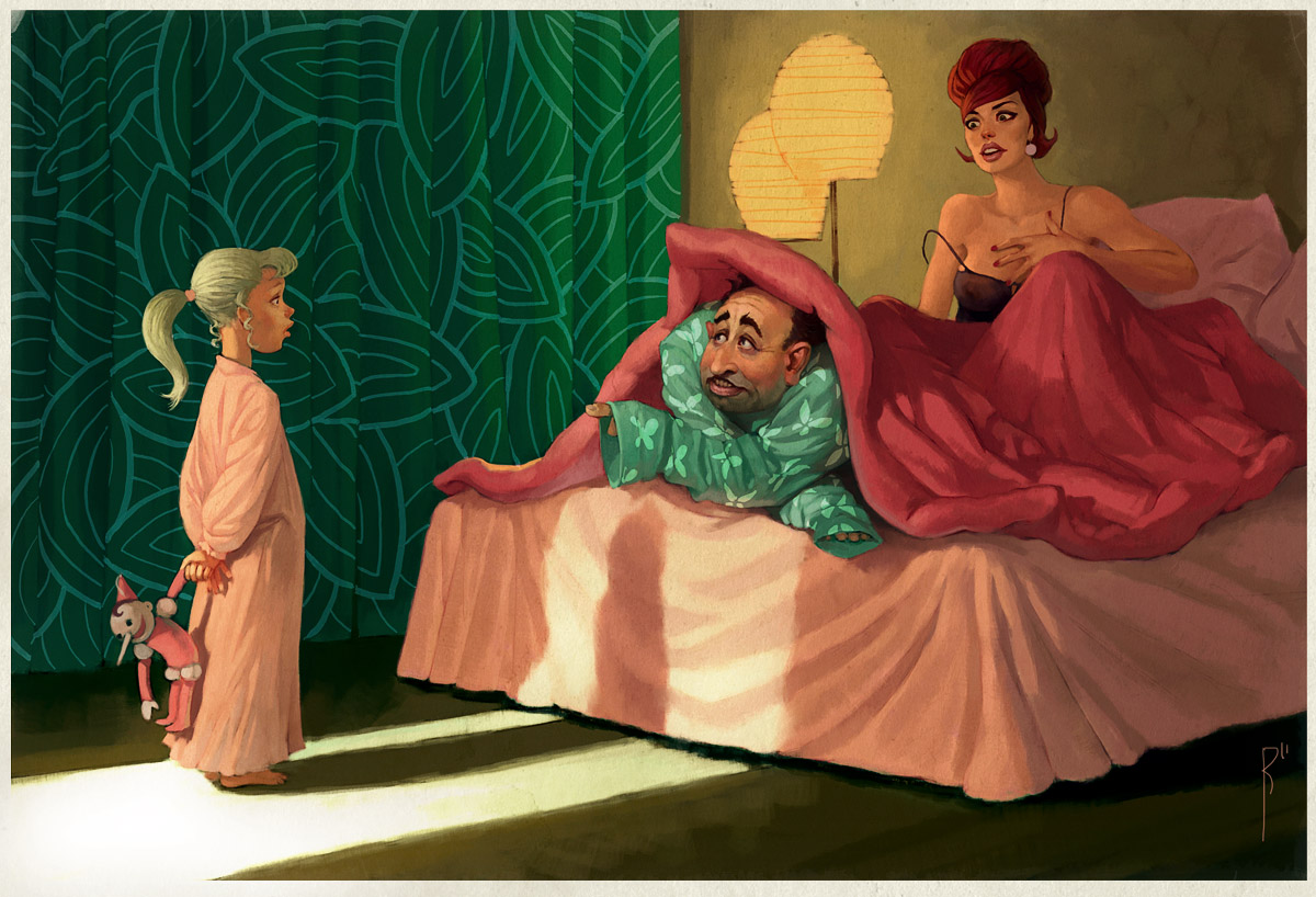 Bed time by Waldemar-Kazak