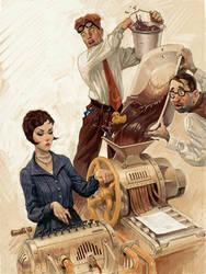 Writers and proof-reader by Waldemar-Kazak