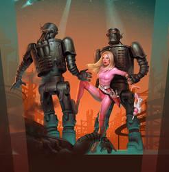 planet of steel by Waldemar-Kazak