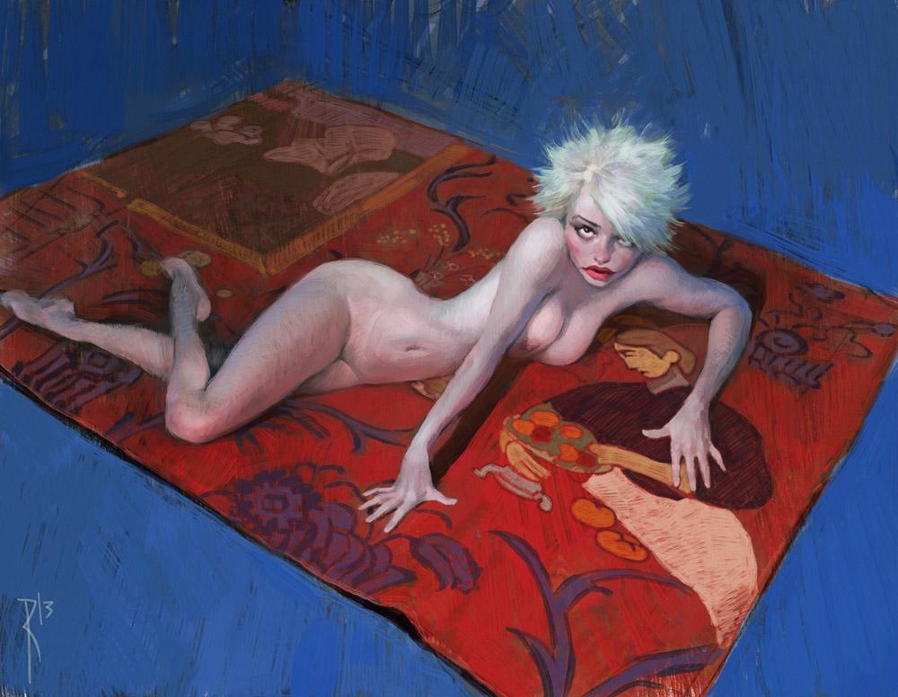 The carpet by Waldemar-Kazak