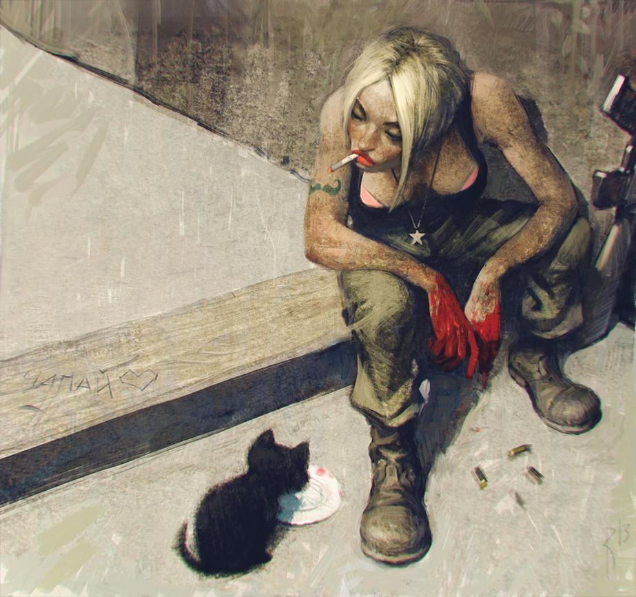 Hero of revolution by Waldemar-Kazak