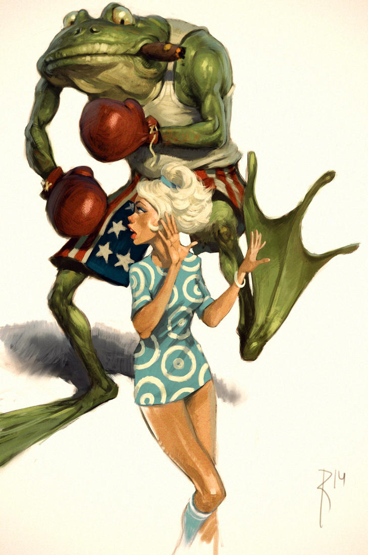 Toad by Waldemar-Kazak