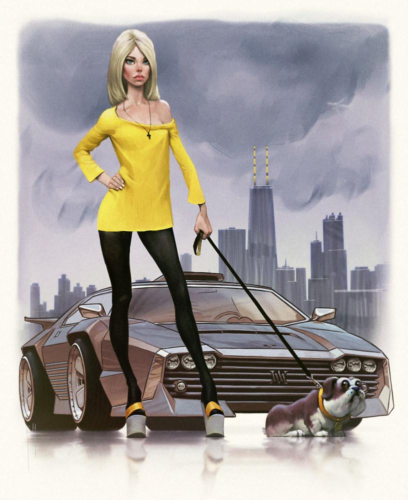 Waldmar Motoren in Chicago by Waldemar-Kazak