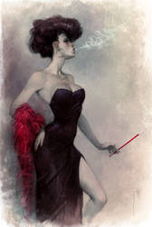 Smoke by Waldemar-Kazak