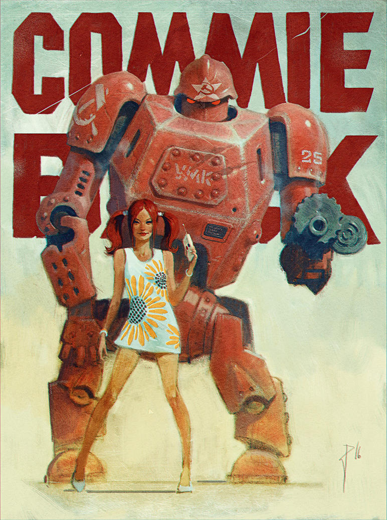 Totalitary robot by Waldemar-Kazak