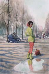 Spring in Ostankino by Waldemar-Kazak