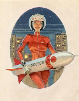 Postcard for friend by Waldemar-Kazak