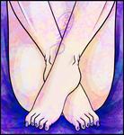 Footsies by Lunakiri