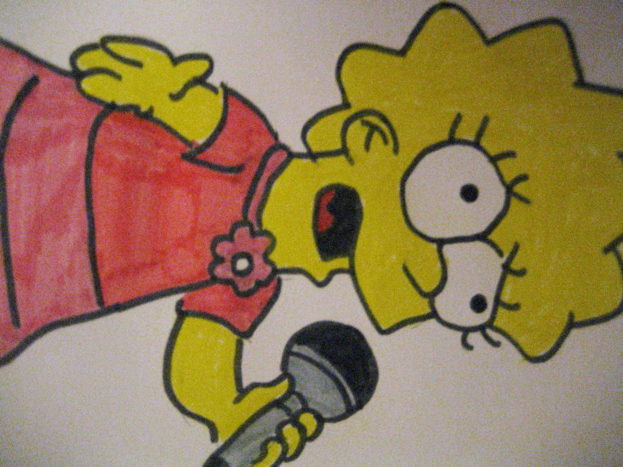 Lisa sings by Elies14