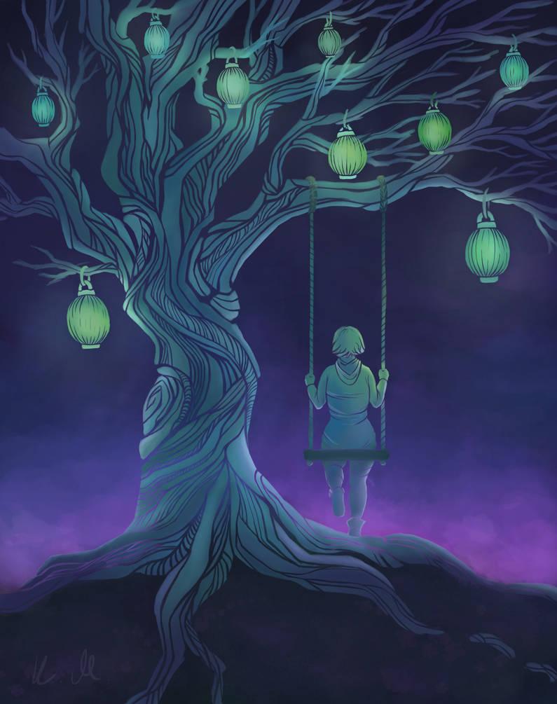 Lantern tree by SkyEffect