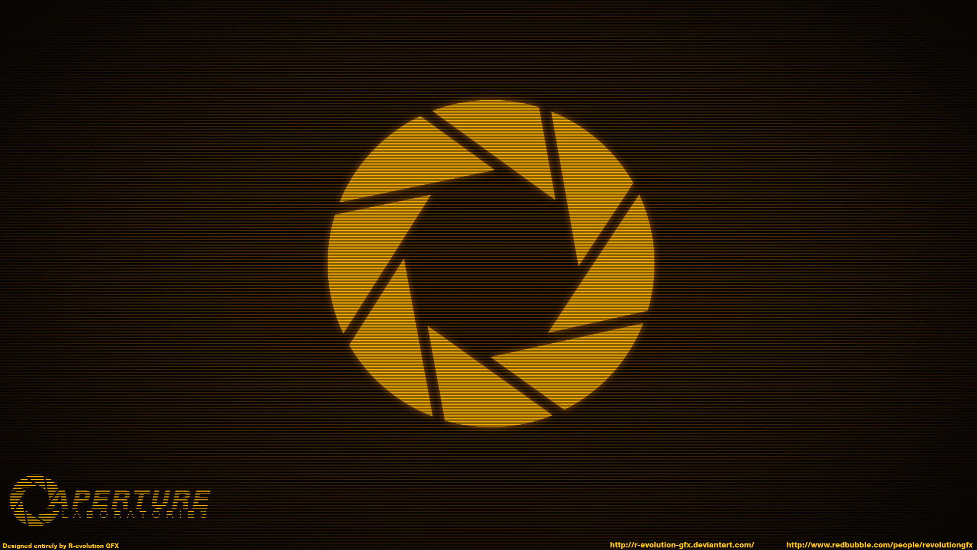 Aperture Laboratories Logo wallpaper - 272964
