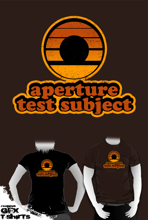aperture test subject by R-evolution-GFX