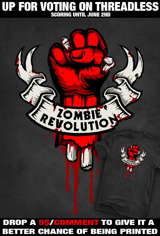 Zombie Revolution by R-evolution-GFX