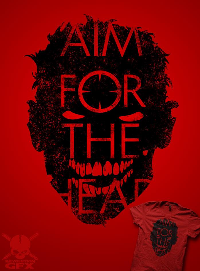 AIM FOR THE HEAD by R-evolution-GFX