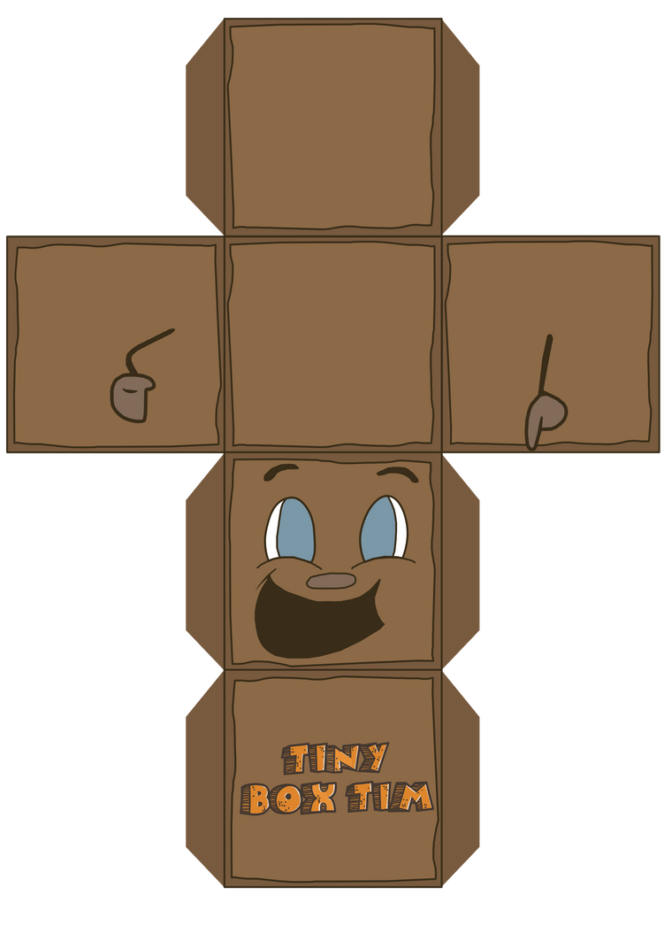 Markiplier - Tiny Box Tim - 3D Box by R-evolution-GFX