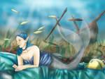 Mermaid - Contest entry for Eledhwen
