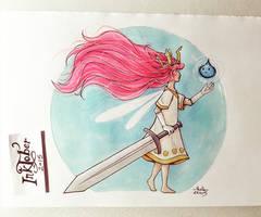 Child of Light by FairyMela