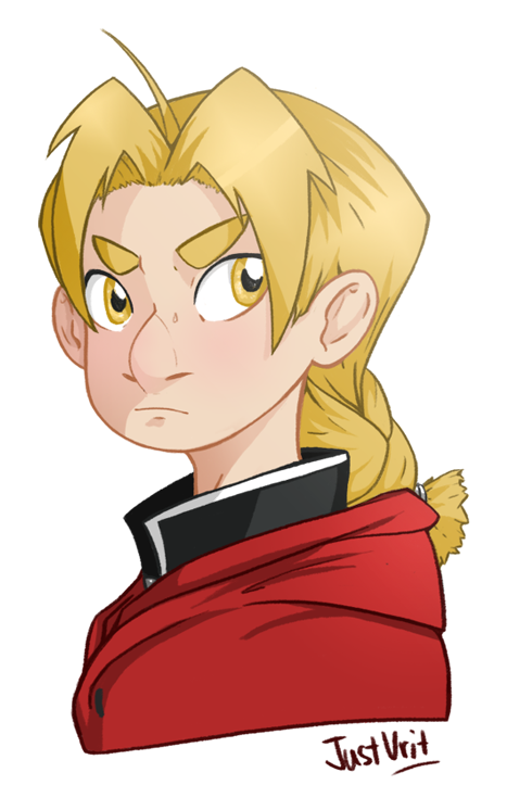 Edward Elric by justvrit