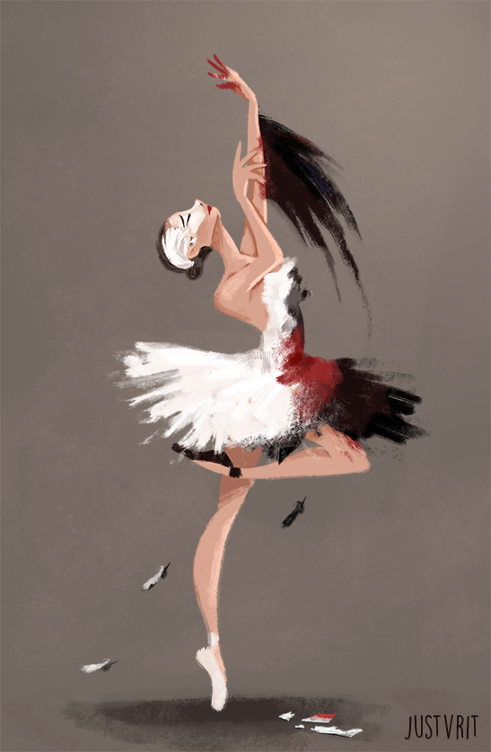 Black Swan by justvrit