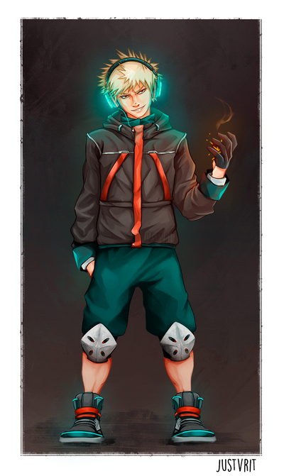 Kacchan by justvrit