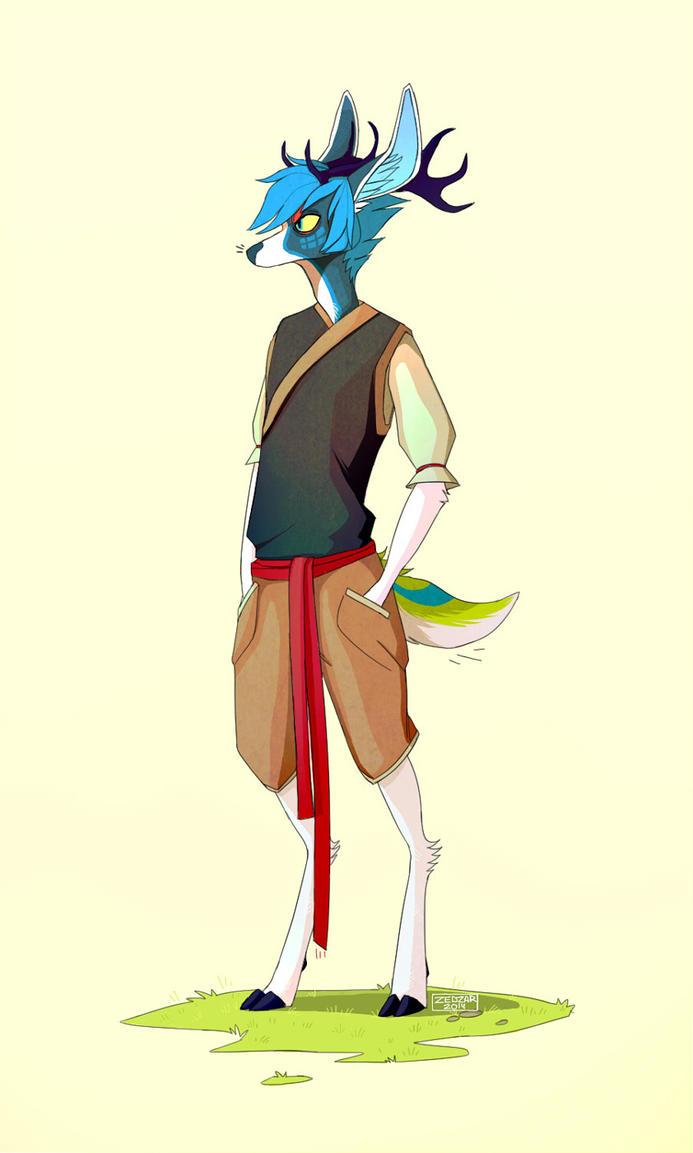 Cool Deer By Zedzar On Deviantart