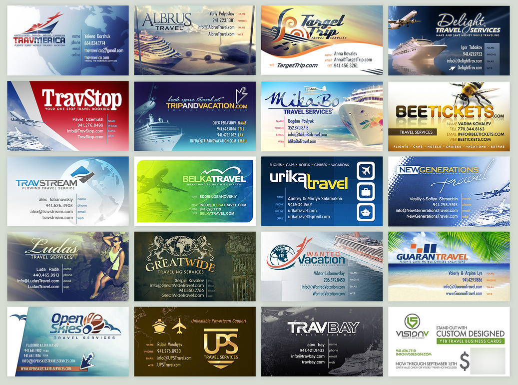 YTB Business Cards by v5design
