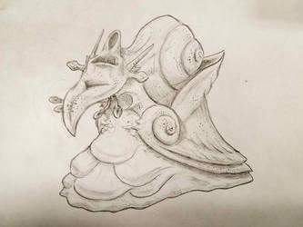 Whistling Snail by Narotiza